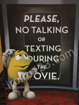アメリカ 映画館  ルール