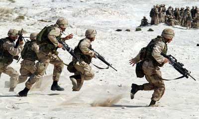 戦争, 兵士, 銃